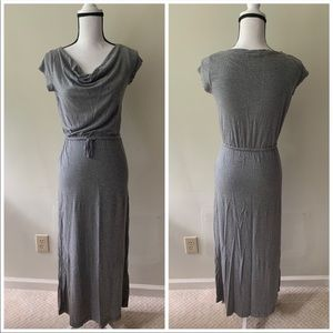 {Gap} Petite Maxi Dress with Drawstring Waist